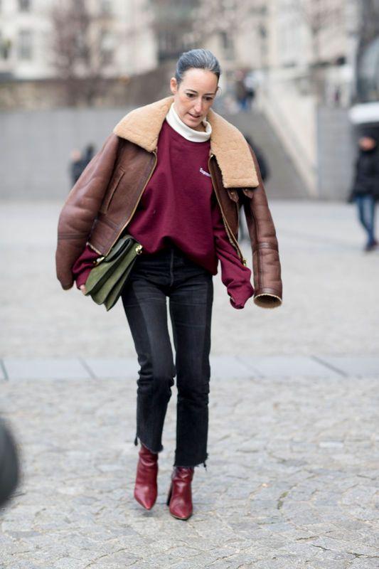 Street fashion: Paris Fashion Week haute couture wiosna 2017