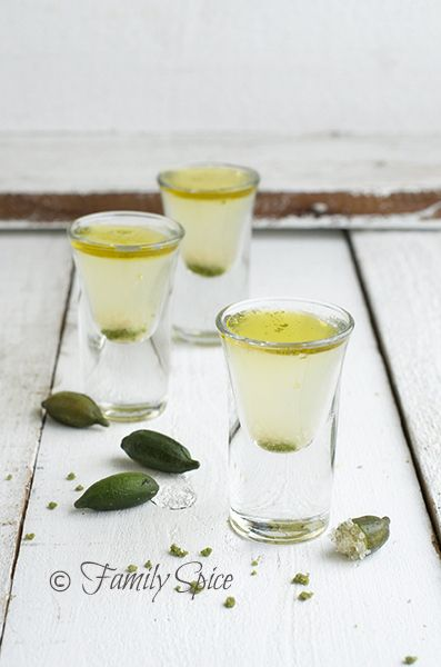 Finger Lime Kamikaze Shots with Mint and Olive Oil | 13 Vodka Shots You'll Actually Want To Take