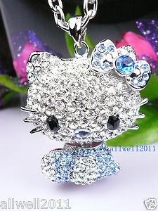 Hello Kitty jewelry is always pretty.