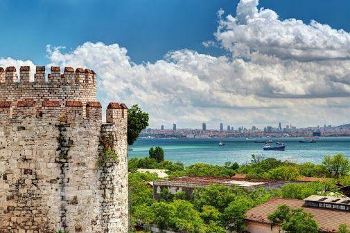 #istanbul #travel #amazing #Finals, #Towers, #YedikuleFortress (In Byzantine…