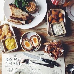 Bar snacks at The Broad Chare. | 23 Things You Need To Eat In Newcastle Right Now