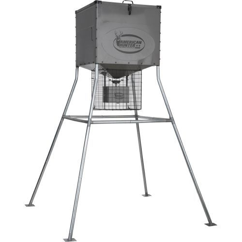 American Hunter Knock Down 440 lb Digital Deer Feeder Kit - Feeder Parts And Accessories at Academy Sports