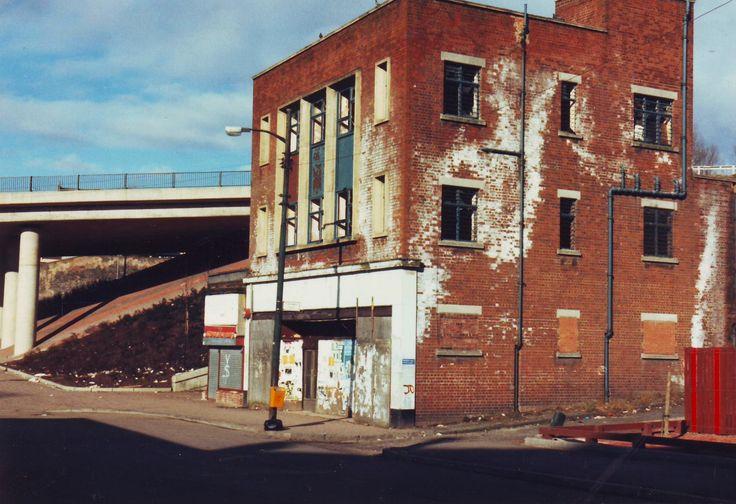 Woolworth in Springburn, Glasgow (St 1010), prior to demolition.
