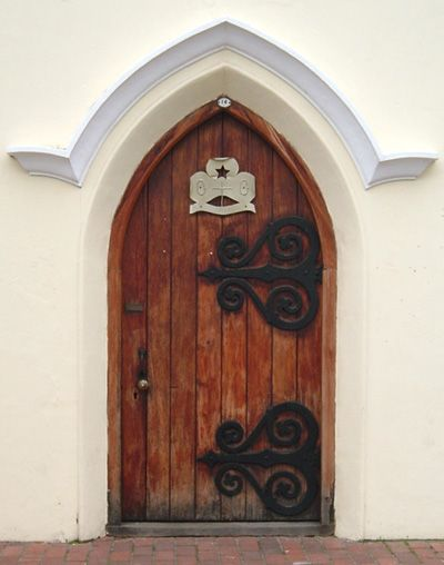 Doorway in Stellenbosch, Western Cape, Africa