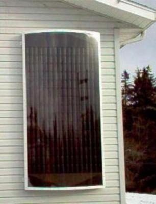 voici comment construire un panneau de chauffage solaire. Black Bedroom Furniture Sets. Home Design Ideas