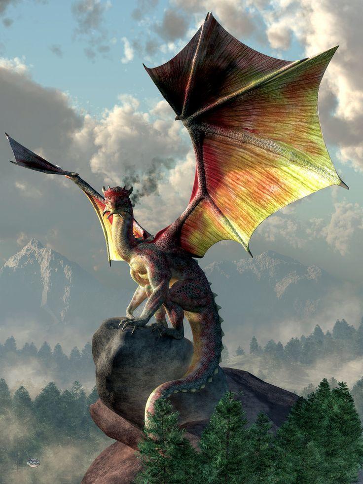 картинки крылья драконов расположенные