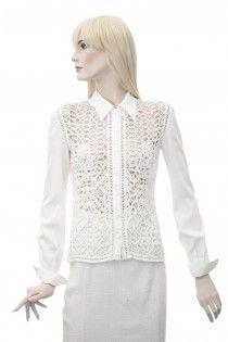 VALENTINO nádherná bílá košile 36