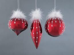 upgrade some plain red ornaments