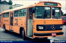 'Leste', 'Norte', 'Oeste', 'Sul' e 'Boqueirão': ônibus de Curitiba, anos 80.