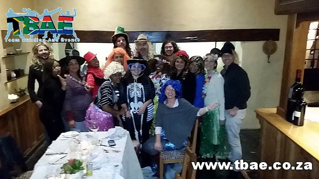The team from New Media Publishing #TeamBuilding #NewMediaPublishing #MurderMystery
