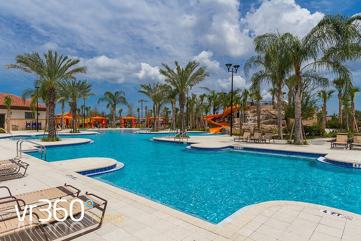 Solterra Resort, Davenport, Florida - Clubhouse Pool Area. http://www.vr360homes.com/north-america/florida/disney-orlando-villas/solterra-resort/
