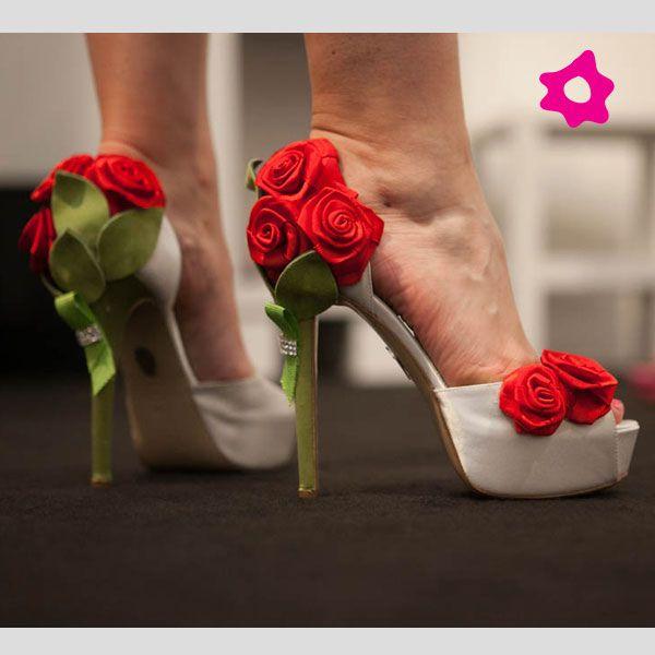 Scarpe Da Sposa Con Le Rose 2017 Di Ferracuti