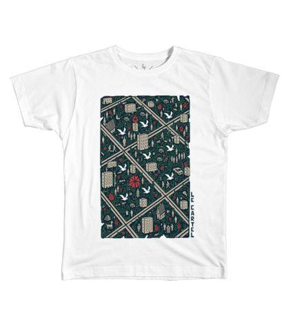 Le Cartel - T-shirt Pigeons sur rue by Bonar