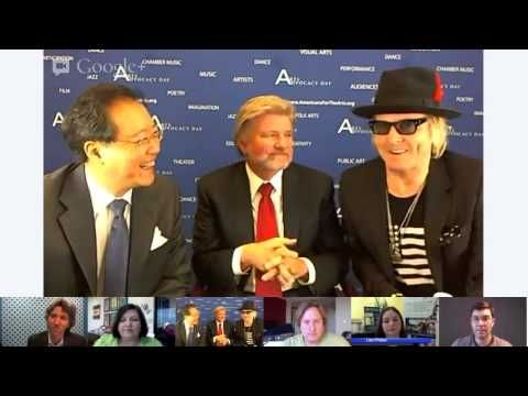 Author, Lisa Phillips, joined YoYo Ma and Matt Sorum (Guns N' Roses) for a panel discussion on #arts #education! Check her out at 17:30! April 9, 2013 www.theartisticedge.ca #artsed #yoyoma #mattsorum #success #video #panel #AAD2013 #advocacy #2013