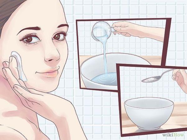 Como eliminar puntos negros y espinillas con bicarbonato de sodio
