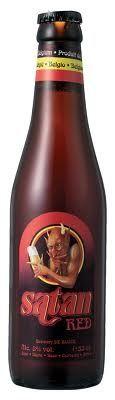 Satan Red Cerveza Belga de tipo Ale Grado alcohol 8º
