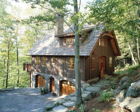 Timber frame house homes log cabin mountain homes for Timber frame house plans with walkout basement