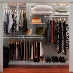 Adjustable Metal Closet Shelves