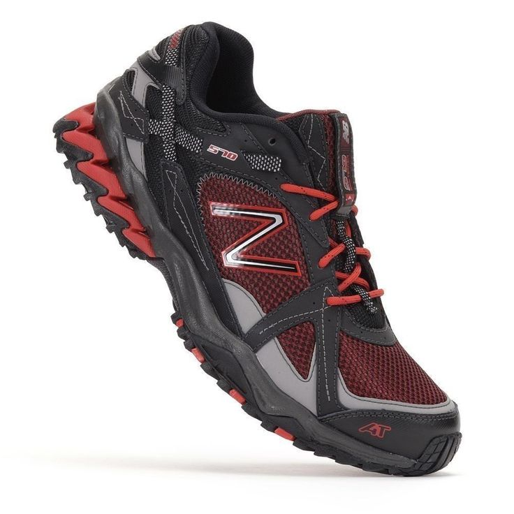 new balance red and black shoes