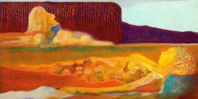MARCO ALMAVIVA, Italian painter – Master of shades of timbre developments | Meeting Benches