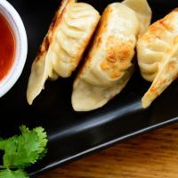 Copycat Cheesecake Factory Chicken Pot Stickers