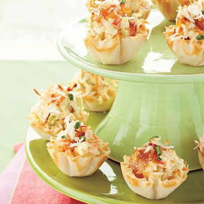 Curried Shrimp Tarts Recipe - Best Party Appetizers and Recipes - Southern Living