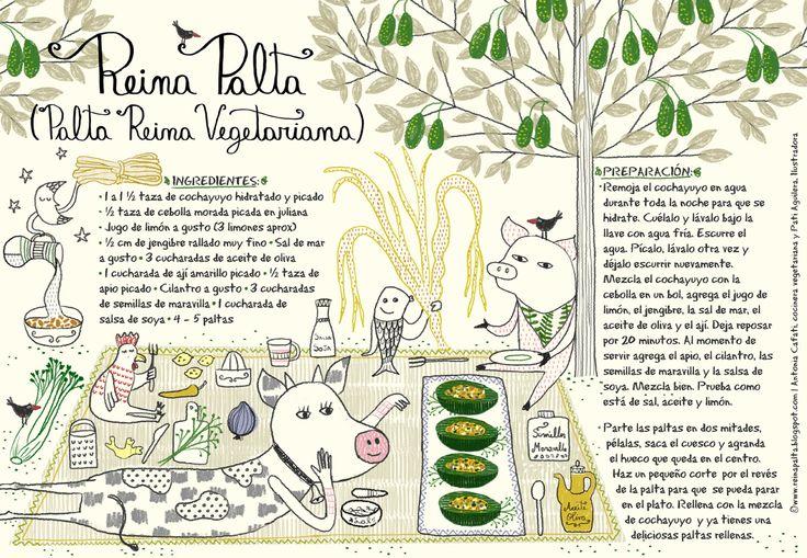 Palta Reina Vegetariana