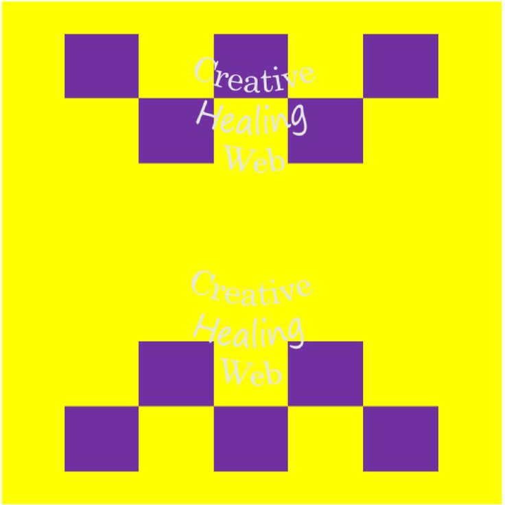 Purple squares graph pattern to make knitted squares for a blanket. Knitting pattern by CreativeHealingWeb on Etsy