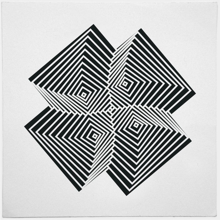 136 best images about artwork on pinterest new york maps for Geometric illusion art