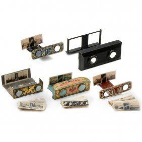 Lot:5 Pocket Stereoscopes, Lot Number:701, Starting Bid: €160…