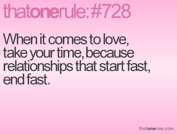falling love too fast relationship