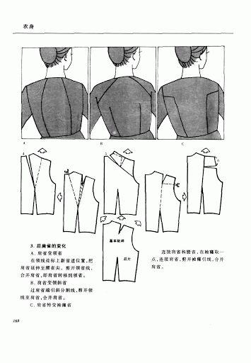 Chinese method of pattern making- Darts on a bodice - SSvetLanaV - Picasa Albums Web