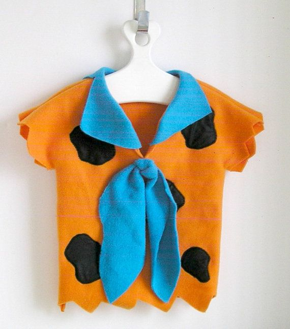 Fred Flintstone Costume Toddler with Big Blue Tie
