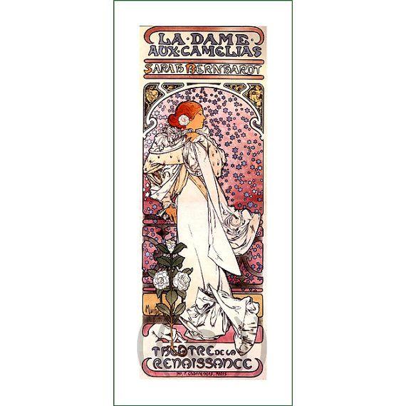 fabric panel - painting by Alphonse Mucha (2)