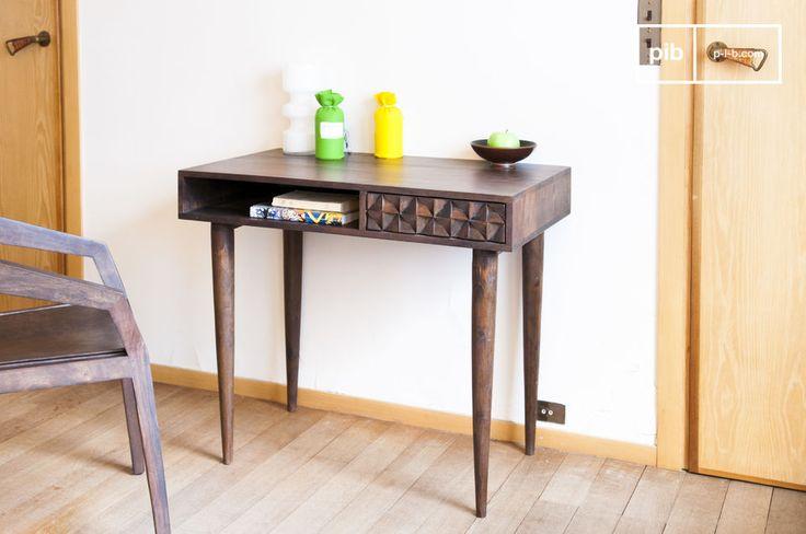 Een schitterend bureau in vintage stijl met bijzondere details