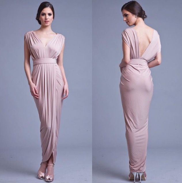 Carla in Rosey Latte by Pia Gladys Perey. Classic and stunning. Available at Nora and Elle.