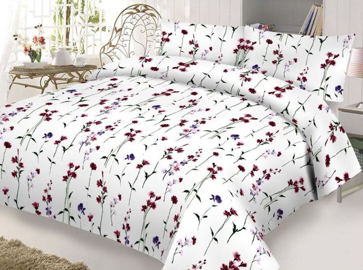 Komplet pościeli Carmen. #bedding #bedroom #bed #flowers