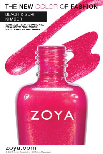 Zoya Nail Polish in Kimber from the Surf Collection http://www.zoya.com/content/38/item/Zoya/Zoya-Nail-Polish-Kimber-ZP622.html?O=PN120521MN00141