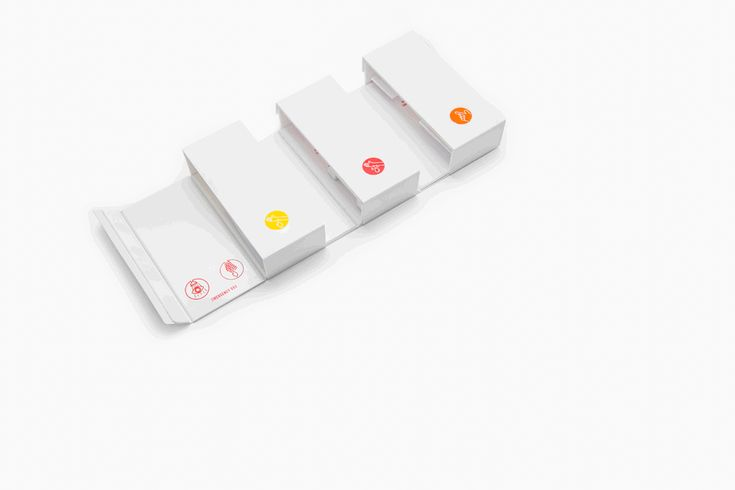 Gabriele Meldaikyte's redesigned Home First Aid Kit.