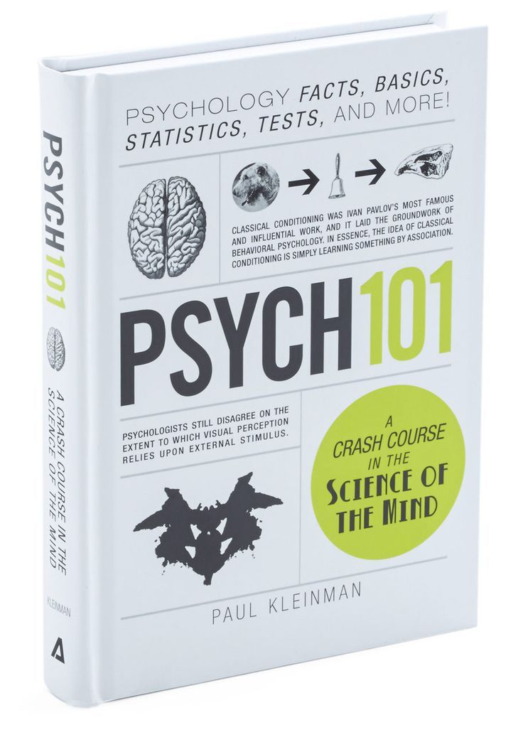 """Psych 101"" – Paul Kleinman Great intro book, easy to read."