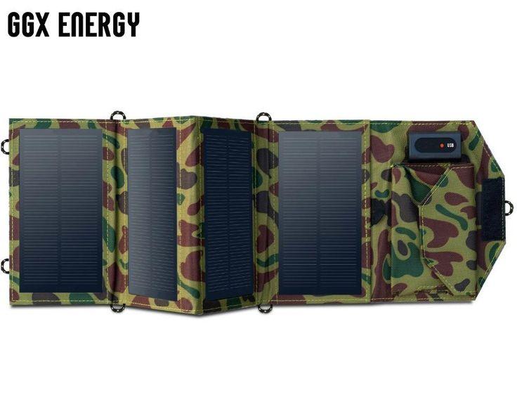chargeur solaire portable 7.2w de haute qualité