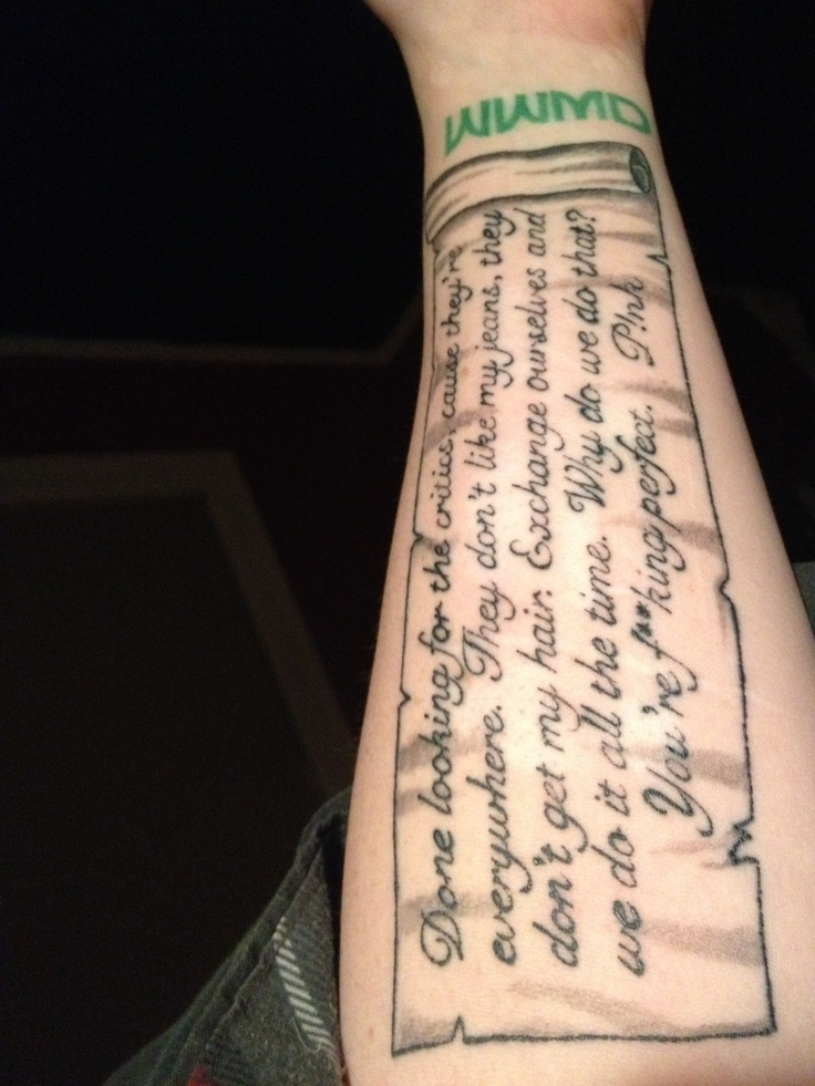 My new ink