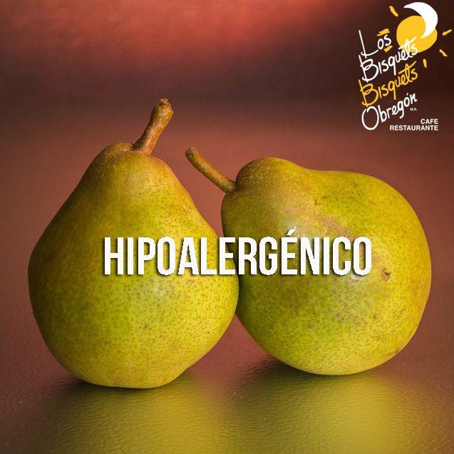 Si buscas alimentos hipoalergénicos la pera es una excelente opción, pues contiene antioxidantes como Vitamina C y Cobre que hacen que disminuya el riesgo de provocar una alergía.  #BisquetsObregón #LBBO #Pera #Beneficios