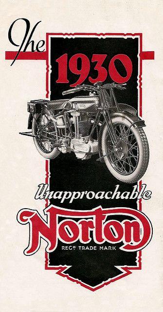 1930 The Unapproachable Norton   por bullittmcqueen