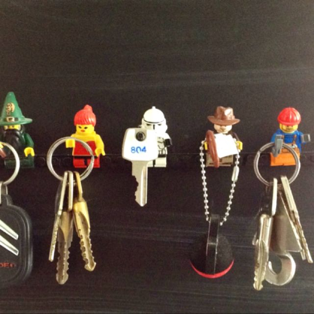 Love my LEGO key holder!