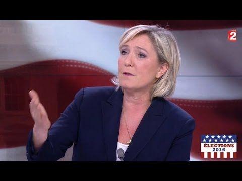 """M. Le Pen sur la victoire de Trump : """"Une grande joie pour le FN"""" 9/11 - YouTube"""
