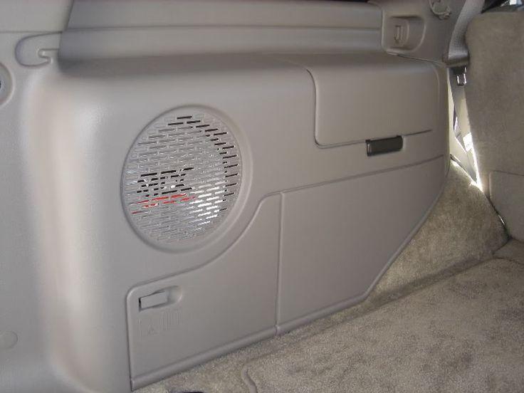 14 best tahoe ideas images on pinterest 2 door tahoe for 03 silverado door speaker size