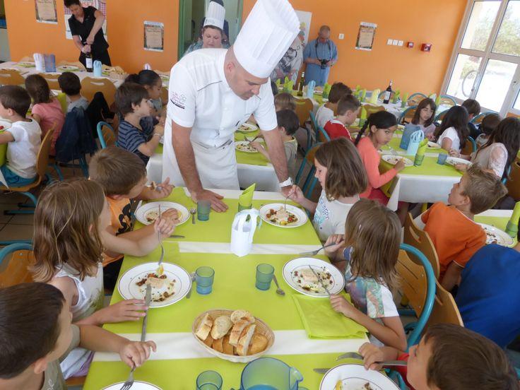 «Le menu des Toques Blanches» pour 8 500 enfants dans les restaurants scolaires