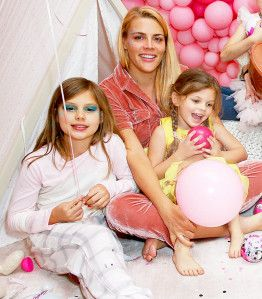 Busy Philipps and Her Daughter Cricket Attended a Pre-New Years Eve Slumber Party