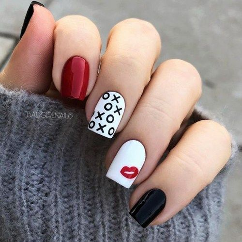 VALENTINES DAY NAIL DESIGNS TO FALL IN LOVE WITH